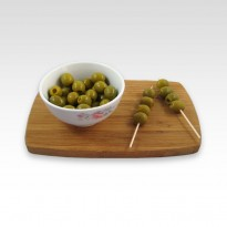 Olives farcies au jambon. 120 g.