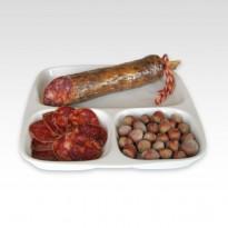 Chorizo cular ibérico bellota. Pieza de 600 g.