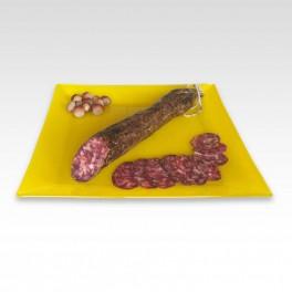Salchichón cular ibérico. Pieza de 550 g.