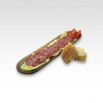 Saucisson ibérique de bellota en tranches. 100 g.