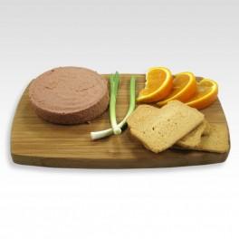 Paté ibérico con naranja. 140 g.