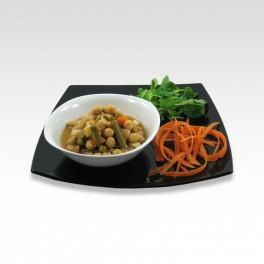 Pois chiches aux légumes. 400 g.
