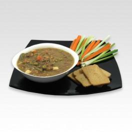 Lentilles aux légumes. 400 g.