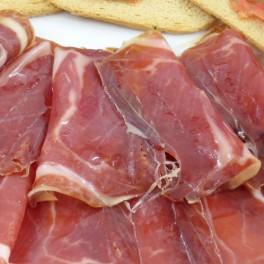 Jambon ibérique bellota PATA NEGRA en tranches. 100 g.