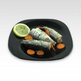 Sardines à l'huile d'olive. 120 g.